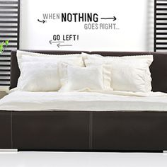 Vinilo frases NOTHING RIGHT Merlin, Mattress, Bed Pillows, Pillow Cases, Interior, Furniture, Home Decor, Funny Design, Pillows