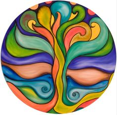 Mandala paintings by Moira Gil Mandala Painting, Ceramic Painting, Mandala Art, Fabric Painting, Psychadelic Art, Coloring Book Art, Arte Popular, Painting For Kids, Fractal Art