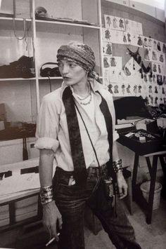 "undesordredelicieux: ""Loulou, indémodable "" Patti Hansen, 70s Fashion, Look Fashion, Vintage Fashion, Lauren Hutton, Mode Vintage, Vintage Ladies, Ysl, Evolution Of Fashion"