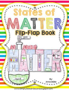 States of Matter Flip-Flap Book  An Expository Writing Resource