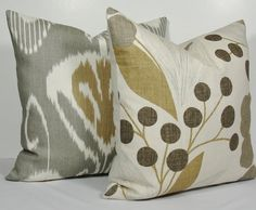 KRAVET Floral pillow Decorative pillow cover Throw by WilmaLong