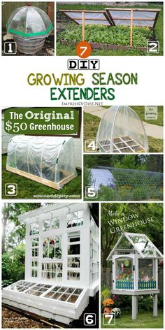 With the addition of season extenders including cold frames, polytunnels, and DIY greenhouses, you can get both an early start on your vegetable garden in spring and continue growing late in the fall right into the cold winter weather. See these 7 DIY projects for ideas.