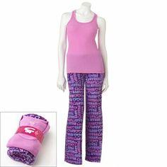 SO Plush Pajama Gift Set #KohlsDreamGifts