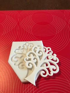 """Stampo in silicone NON ALIMENTARE """"albero della vita """" con occhiello cm.9, by piccolisogni, 18,00 € su misshobby.com"""
