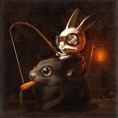 Mr Bunners the Rabbit Master by Mike Mitchell MikeMitchell