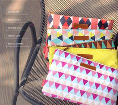 MochiThings.com: Colorful Candy iPad Pouch