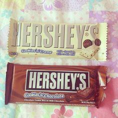 Hershey's chocolate bars ♡