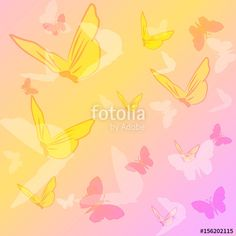 "Download the royalty-free vector ""Butterfly background"" designed by elenanes at the lowest price on Fotolia.com. Browse our cheap image bank online to find the perfect stock vector for your marketing projects!"