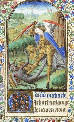 Book of Hours, MS M.282 fol. 123v - Images from Medieval and Renaissance Manuscripts - The Morgan Library & Museum