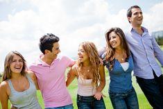 Group of friends at a weekend getaway in Gatlinburg