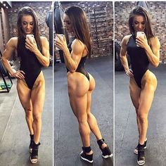 SQUAT BUTTS AND MUSCULAR DREAM WIFE GLUTES - September 11 2017 at 07:29AM : Health Exercise #Fitspiration #Fitspo FitFam - Crossfit Athletes - Muscle Girls on Instagram - #Motivational #Inspirational Physiques - Gym Workout and Training Pins by: CageCult