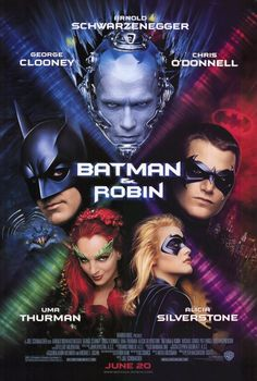 The visual evolution of Batman in movie posters