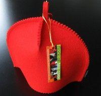 """Small TEA COZY """"Classic 11″ in Brite Red"""