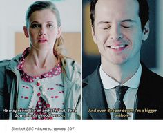jim moriarty x molly hooper molliarty sherlock incorrect quotes louise brealey andrew scott accurate this ship in a nutshell
