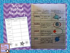 Great ideas for interactive science notebooks