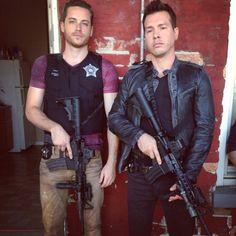 Chicago PD - Jesse Lee Soffer & Jon Seda // Jay Halstead & Antonio Dawson