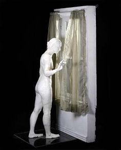 American Art: The Curtain by George Segal Could be used to think about sets Alberto Giacometti, Louise Bourgeois, Nam June Paik, George Segal, Pop Art Movement, Claes Oldenburg, Robert Rauschenberg, David Hockney, Jeff Koons