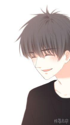 Cuando lo vea sonreir Anime Love Story, Anime Love Couple, Manga Love, Cute Anime Couples, Anime Chibi, Kawaii Anime, Anime Manga, Anime Art, Cool Anime Girl