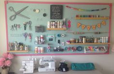 This DIY Pegboard Is a Must for Crafters