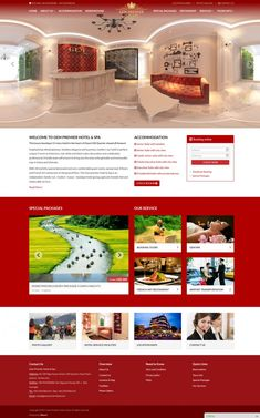 Dự án website Biso đã thiết kế - Biso.vn Premier Hotel, Restaurant Service, Executive Suites, Mansions, Website, House Styles, Home, Letter Example, Baby Born