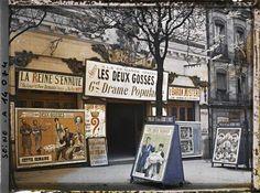 Los anuncios publicitarios del París antiguo #publicidad