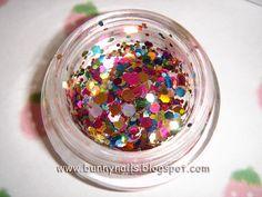Bunny Nails: Pastel Jelly Glitter Franken
