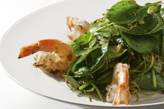 Nobu Matsuhisa's Baby Spinach Salad - The Chefs Connection #chefs #salad #spinach