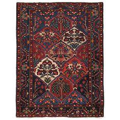 Bahtiári régi perzsaszőnyeg - RASZB 011 Irán