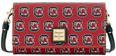 Dooney & Bourke South Carolina Gamecocks Daphne Crossbody Wallet