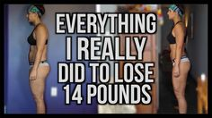 MY 2 WEEK BODY TRANSFORMATION   THE SECRETS EXPOSED