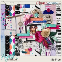 Be Free by Angelle Designs