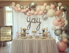 25 Best Bridal Shower Balloons Images In 2019 Wedding Anniversary