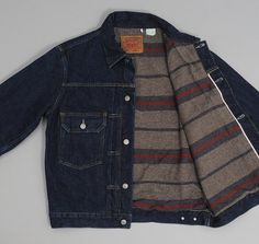 ed8c540f122 levis vintage clothing - 1953 type 2 jacket blanket lined on Wanelo