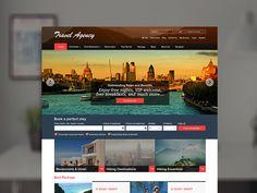 Travel Agency Website by Ankit Sen