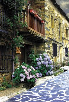 House Exterior European Stones 63 New Ideas Places To Travel, Places To See, Places Around The World, Around The Worlds, Wonderful Places, Beautiful Places, Hydrangea, Spanish Art, Andalucia