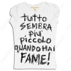 Happiness T-Shirt Donna Quando Hai Fame-31