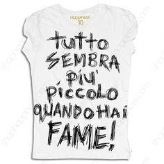 Happiness T-Shirt Donna Quando Hai Fame-31