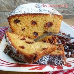 Esta es la receta del Plum Cake clasico inglés con un toque de ron para darle alegría. Además de las pasas, puedes poner trocitos de frutas confitadas, ciruela secas... a tu gusto.