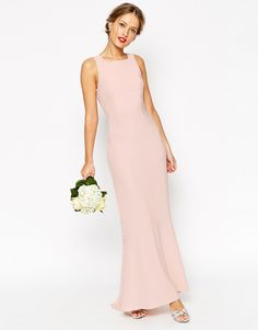 Immagine 1 di ASOS WEDDING Maxi With Fishtail