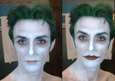 Unique Scoop: The Joker makeup progression by Anthony Misiano