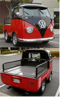 Shorty VW Bus Flatbed