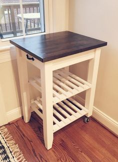 Kitchen cart Kitchen islands and Kitchens, Our favorite kitchen decorating ideas with carts and island diy rolling plans small-spaces kitchen Small Kitchen Cart, Kitchen Storage Trolley, Ikea Kitchen Storage, Diy Kitchen Island, Ikea Storage, Ikea Trolley, Storage Ideas, Kitchen Design, Kitchen Decor