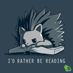 Best Ideas For Book Nerd Drawing Pictures Cute Animal Drawings, Kawaii Drawings, Cute Drawings, Cute Animal Quotes, Cute Animals, Cartoon Mignon, Day Of The Shirt, Chibi, Book Memes