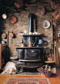 cozy kitchen setting...