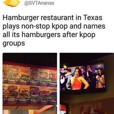 The place is called K-Pop Burger. Its in Fort Worth, Texas.