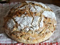 Stort brød ferdig stekt og avkjølt Mad, Baking, Bakken, Backen, Sweets, Pastries, Roast