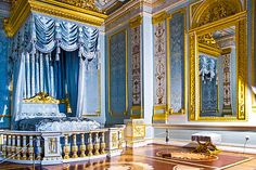 Interiors of the Grand Palace in Gatchina,royal estate south of St Petersburg,Russia. Le Palais, Grand Palais, Versailles, Catherine La Grande, Romanov Palace, Imperial Palace, Imperial Russia, Winter Palace, Secret Rooms