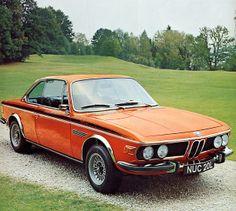 E9 BMW 3.0 CSL in Inca Orange (Inkaorange)