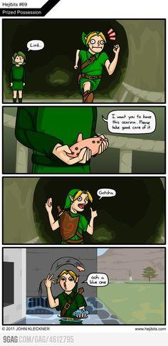 Link est un connard