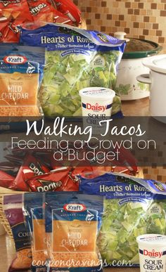 walking tacos for a party